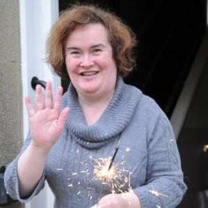 Susan Boyle Finds Peace In The Studio