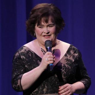 Susan Boyle's Crystal Toes