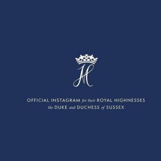 Duke And Duchess Of Sussex Launch Official Instagram Account