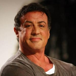 Competitive Actor Sylvester Stallone