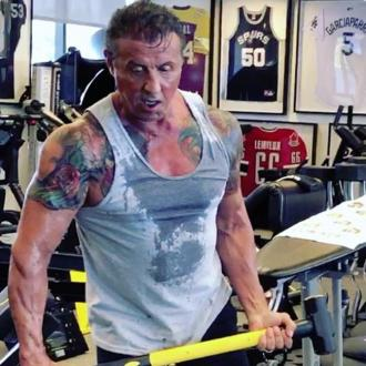 Sylvester Stallone gets ripped for Rambo