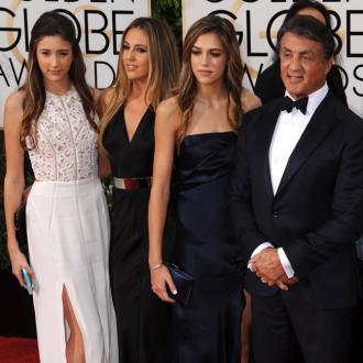 Sylvester Stallone trains his daughters to walk in high heels every day