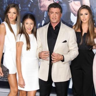Sylvester Stallone's daughter trying 'very hard' to become model