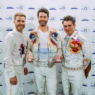 Take That win award for most shows and ticket sales at The O2