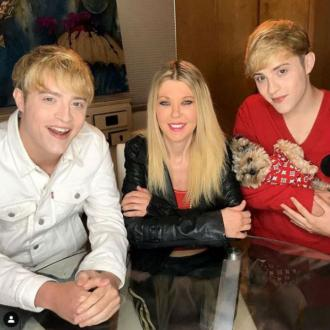 'Thank God they're with me': Tara Reid opens up about quarantining with Jedward