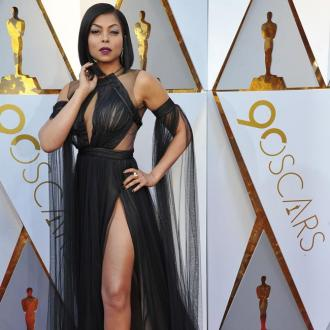 Taraji P. Henson's Daring Oscars Dress