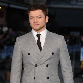 Taron Egerton punched in face by co-star Ed Holcroft on Kingsman
