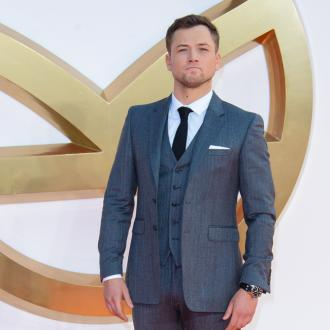 Taron Egerton was given earring from Sir Elton John