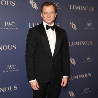 Taron Egerton 'fell in love' with Elton John during Rocketman