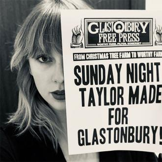 Taylor Swift to headline Glastonbury Festival
