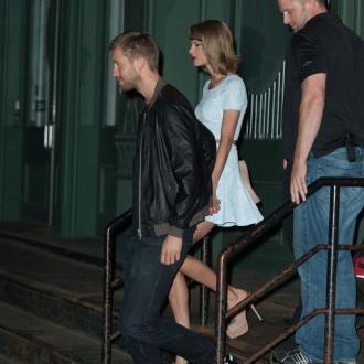 Calvin Harris and Taylor Swift enjoy date night