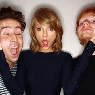 Taylor Swift And Ed Sheeran Hid From The Police