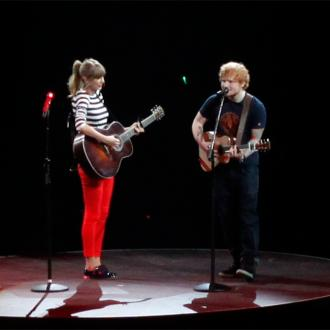Taylor Swift And Ed Sheeran Text In Rhyme