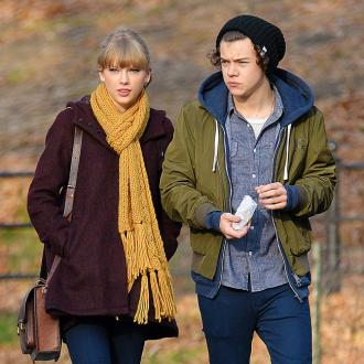 Harry Styles And Taylor Swift Enjoy New Year Kiss