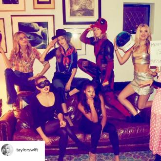 Gigi Hadid Ate 'Chips And Guacamole' At Taylor Swift's Halloween Party