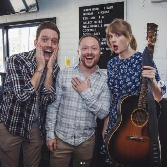 Taylor Swift surprises couple with engagement party performance