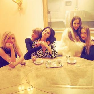 Taylor Swift Has Tea Party With Ellie Goulding And Selena Gomez