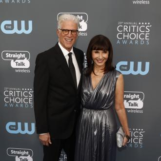 Ted Danson's wife surprises him on flight