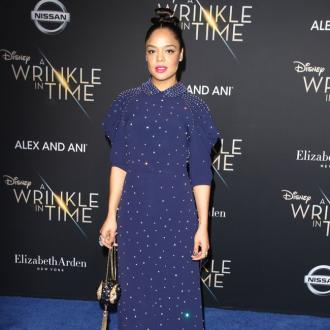 Tessa Thompson related to Little Woods character