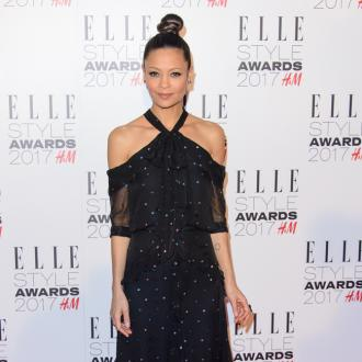 Thandie Newton says her grey hair is her 'badge of  honour'