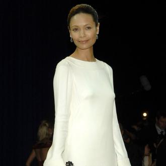 Thandie Newton Admits Filming During Her Pregnancy Is Mayhem