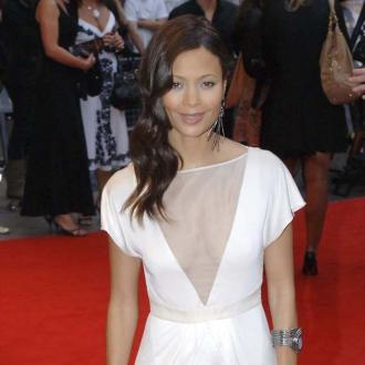 Thandie Newton welcomes son