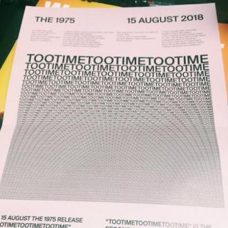 The 1975 Announce New Single Tootimetootimetootime