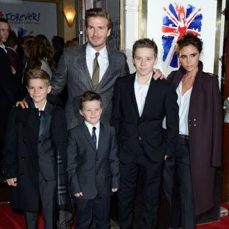 Beckham Kids Bid Goodbye To La School