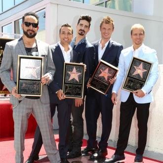 Backstreet Boys Receive Hollywood Star