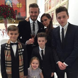 David and Victoria Beckham trademark kids' names