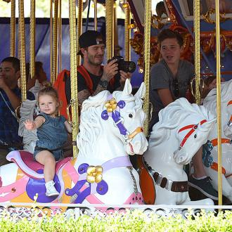 The Beckhams Go To Disneyland