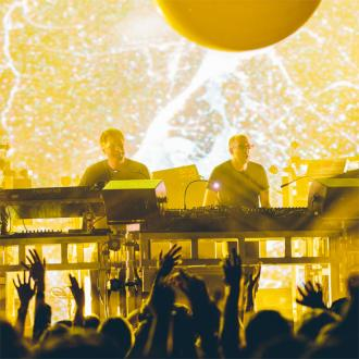 The Chemical Brothers give fans hits at Apple Music Festival