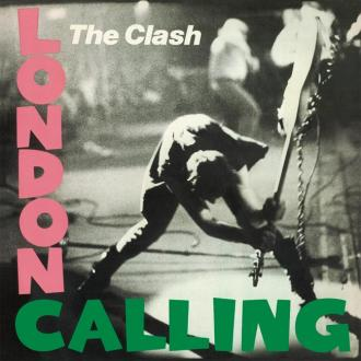 The Clash's destroyed  London Calling guitar set for exhibit