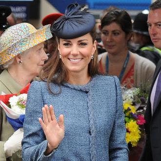Duchess Catherine Puts 'Bottomless' Photos Behind Her