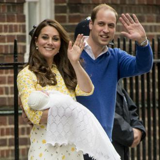 Carole and Pippa Middleton visit royal baby