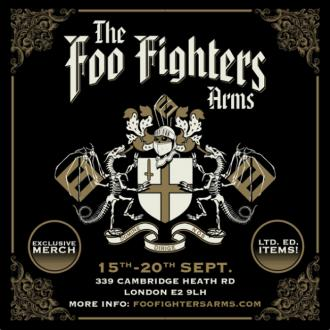 Foo Fighters to open London pub for five days