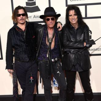 Hollywood Vampires' Album Made At Johnny Depp's Own Studio