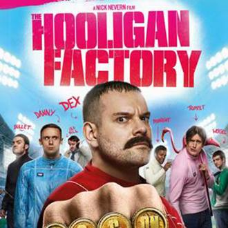 Josef Altin couldn't  keep a straight face in 'The Hooligan Factory'
