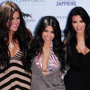 Kim Kardashian Gets Sister Help