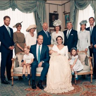 Royal Family Release Prince Louis' Christening Photographs
