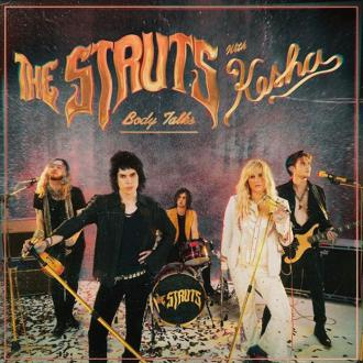 Kesha teases artwork for her The Struts song