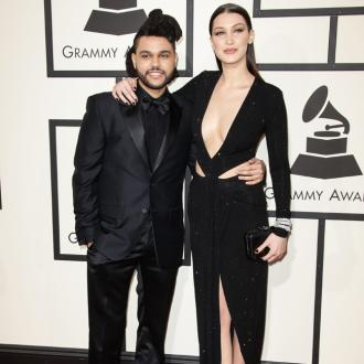 The Weeknd in touch with Bella Hadid