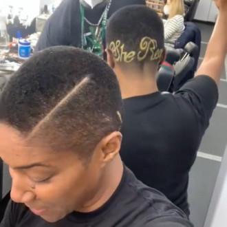 Tiffany Haddish shaves her catchphrase 'She Ready' into hair