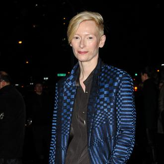 Tilda Swinton loves 'tandoori tan'