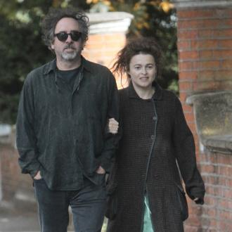 Tim Burton Shoots Helena To Relieve Tension