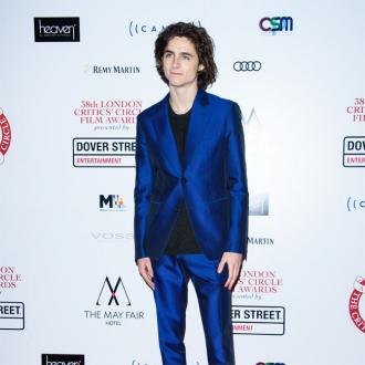 Timothée Chalamet hopes his Oscar nod is 'just the start'