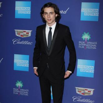 Timothee Chalamet felt star-struck at the Golden Globes