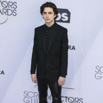 Timothee Chalamet 'felt like a fraud' at dinner with Kanye West