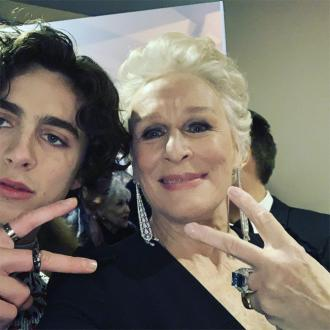 Glenn Close is collecting selfies with Timothee Chalamet