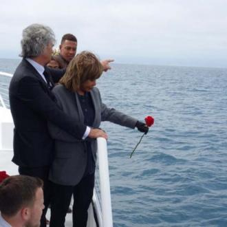 Tina Turner scatters son's ashes off Californian coast